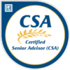 """My Certified Senior Adviser Badge"""